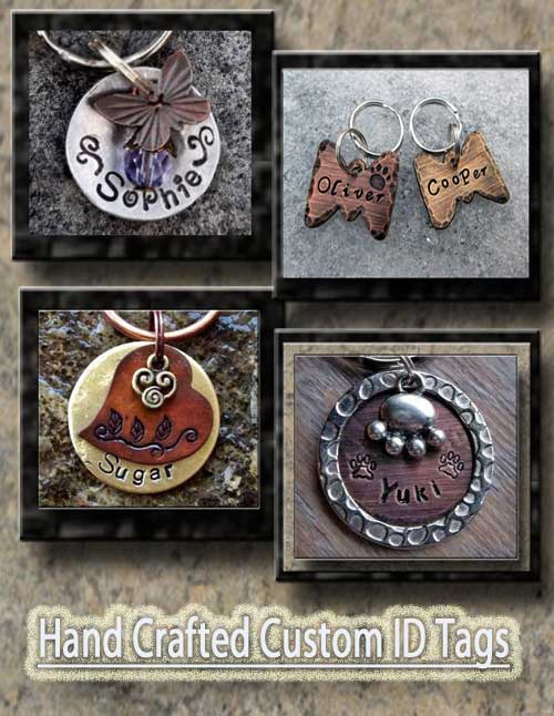 Hand Made Custom Dog Tags