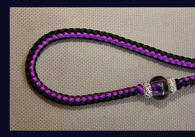 Beaded Nylon Dog Leash
