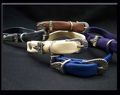 Deer Leather Dog Collar