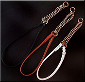 Deer Leather Martingale Collar