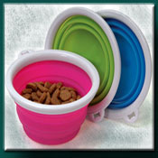 Collapsable Dog Bowl